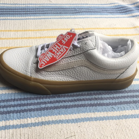 Vans x Madewell White Tumble Leather Old Skool DX 72d6b23e1